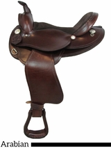 "15"" 16"" American Saddlery The Antar Arabian Saddle 915 916"