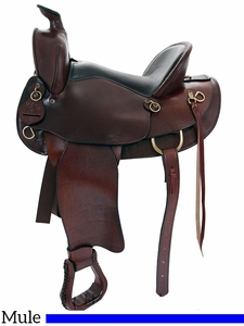"15"" 16"" American Saddlery The Mule Tamer Saddle 1740"