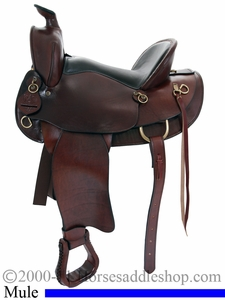 "15"" 16"" American Saddlery The Mule Tamer Saddle am1740"