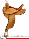 "15"" 16"" Barrel Saddle Dakota made dk 315"