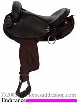 "15"" 16"" Big Horn Center Fire Endurance Saddle 117 120"