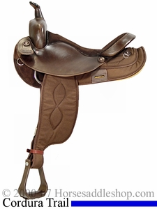 "15"" 16"" Big Horn Synthetic FQHB Saddle 206 250 205 251"