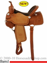 "15"", 16"" Billy Cook Barrel Racing Saddle 1550"