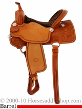 "15"" 16"" Billy Cook Barrel Racing Saddle 1550"