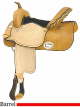 "** SALE ** 15"" 16"" Billy Cook Flex Wide Racer Barrel Saddle 291267"