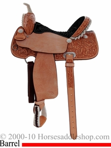 "15"" 16"" Billy Cook Half Breed Barrel Saddle 10-2010"