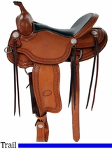 "15"" to 17"" Billy Cook Porter Trail Saddle 1835"