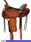 "15"" 16"" Billy Cook Porter Trail Saddle 1835"