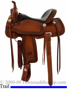 "15"" 16"" Billy Cook Trail Saddle 1538"