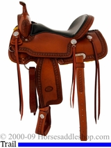 """15"""" 16"""" Billy Cook Trail Saddle 1538"""