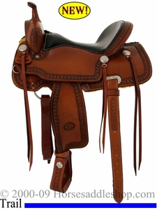 15inch 16inch Billy Cook Trail Saddle USA Made