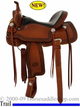 "15"", 16"" Billy Cook Trail Saddle 1538"