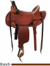 """** SALE ** 15"""" to 16"""" Colorado Saddlery's Continental Divide Stockman High Cantle Saddle 0-6"""