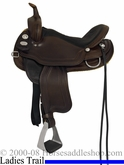 "** SALE **15"" 16"" Crates Light Ladies Trail Saddle 2172 Equi-Fit Tree"