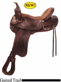 "15"" - 17"" Crates Supreme Gaited Trail Saddle 279"