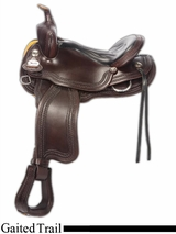 "15"" to 17"" Crates Supreme Gaited Trail Saddle 279"