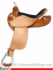 "15"" 16"" Custom Dakota Barrel Racing Reqular Bars or FQHB Saddle dk 300"