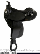 "15"" 16"" Dakota Arabian Horse Saddle 5319"