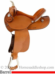 "15"" 16"" Dakota Barrel Racing Saddle 910j"