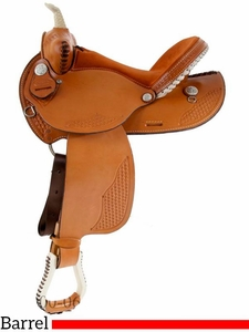 "** SALE ** 14"" to 16"" Dakota Barrel Racing Saddle 910j"