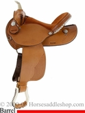 "15"" 16"" Dakota Custom Barrel Racers Saddle dk 910j"