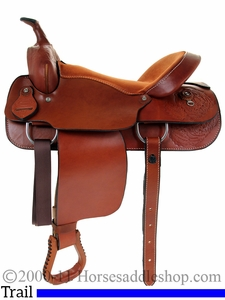 "15"" 16"" Dakota Pleasure Saddle 900j"