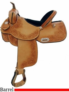 "15"" 16"" Dakota Qualifier Barrel Saddle 470"