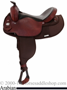 "15"" 16"" Fabtron Arabian Saddle 7318 7322"