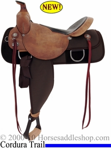 "DISCONTINUED 15"" 16"" Fabtron Trail Boss Homesteader Saddle FQHB 7610 7612"