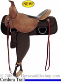 "15"" 16"" Fabtron Trail Boss Homesteader Saddle FQHB 7610 7612"