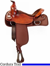 "16"" Fabtron Trail Saddle Full Quarter Horse Bars 7110"