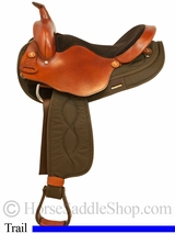"16"" 17"" Big Horn Light Weight Haflinger Saddle 291 292"