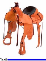"15"" to 17"" Colorado Saddlery LR Trail Special Saddle 300-6341"