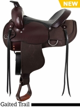 "15"" to 17"" South Bend Saddle Co ""Navigator"" Gaited Trail Saddle 1003"
