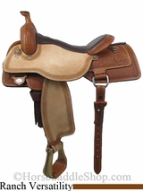 "** SALE **15.5"" to 17"" Circle Y Rocky Mountain High Performance Versatility Julie Goodnight Saddle 1470 *free pad or cash discount*"