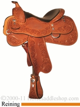 """15.5"""" 16"""" 17"""" Silver Mesa Traditions Show Reiner Saddle SM2003 *FREE SADDLE PAD OR CASH DISCOUNT!*"""