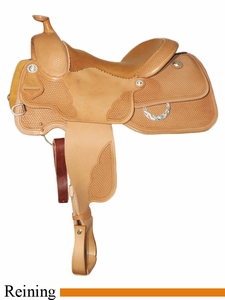 "** SALE **15.5"" to 17"" Circle Y XP Granger Reiner Saddle 2671 *free gift*"