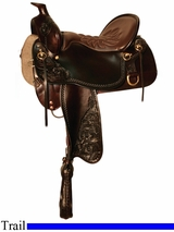 "15.5"" to 18.5"" High Plains Tucker Trail Saddle 260"