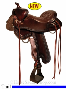 "15.5"" to 18.5"" Tucker Bear Trap Trail Saddle 294"