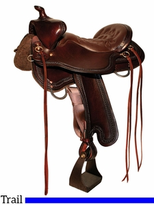 "15.5"" to 18.5"" Tucker Bear Trap Trail Saddle 294 w/Free Pad"