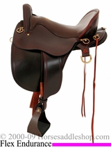 "15.5"" to 18.5"" Tucker Bayou Plantation Saddle 140"