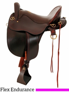"** SALE ** 15.5"" to 18.5"" Tucker Gen II Bayou Plantation Saddle 140"
