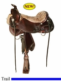 "15.5"" to 18.5"" Tucker Limited Edition Trail Saddle L14 *free gift*"