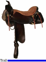 "15.5"" to 18.5"" Tucker Outfitter Trail Saddle 265 w/Free Pad"