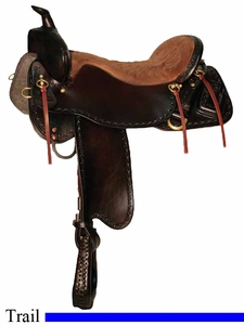 "** SALE **15.5"" to 18.5"" Tucker Outfitter Trail Saddle 265 *free gift*"