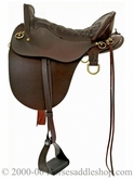 "** SALE **15.5"" to 18.5"" Tucker River Plantation Saddle 146 *free gift*"