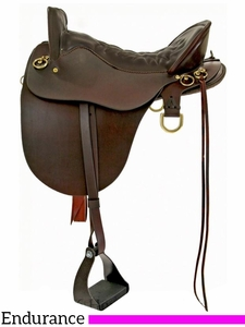 "** SALE ** 15.5"" to 18.5"" Tucker River Plantation Saddle 146 w/Free Pad"