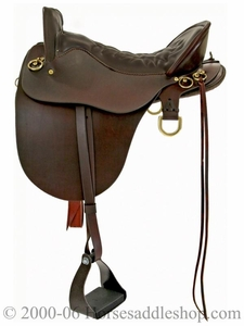 "15.5"" to 18.5"" Tucker River Plantation Saddle 146 *free gift*"