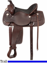 "15.5"" to 16.5"" Royal King Adkins Trail Saddle 975 976"