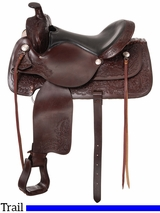 "15.5"" to 16.5"" Royal King Dawson Trail Saddle 915 916"